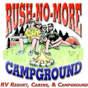 Logo Rush No More Cabins and Campground