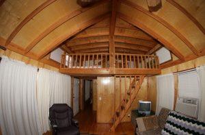 Cabin 11 interior