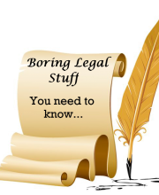 Boring legal stuff - graphic