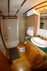 Cabin 11 bathroom