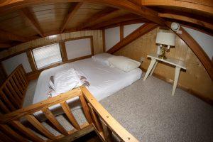 Cabin 11 loft space
