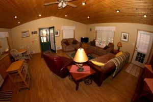 Cabin 15 living room area - Sofas and couches