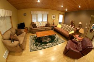 Cabin 15 living room