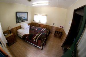 Cabin 16 main bedroom