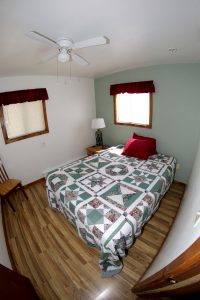 Cabin 16 bedroom