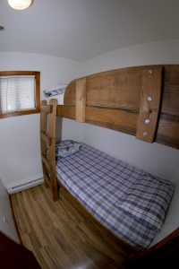 Cabin 16 bunk bed bedroom