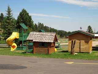 Childrens Play Area - Rush No More Campground and Cabins Sturgis SD