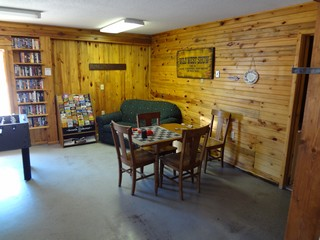 Game Room - Rush No More Campground and Cabins Sturgis SD