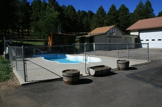 Pool and Hot tub- Rush No More Campground and Cabins Sturgis SD