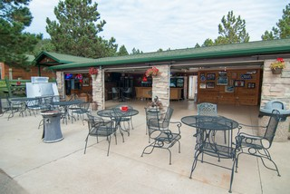 Bar and Entertainment Area - Rush No More Campground and Cabins Sturgis SD