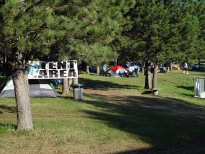Tent Camping Area (lg) - Rush No More Campground and Cabins Sturgis SD