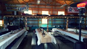 RNM Events Center and Table Setup