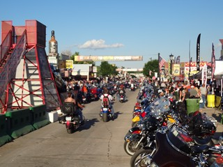 Bike Rally Sturgis downtown