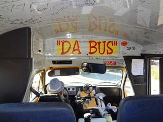 "Bike Rally Pics ""Da Bus"" - Rush No More Camping Resort and Cabins Sturgis SD"