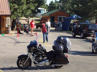Bikes and campers at RNM
