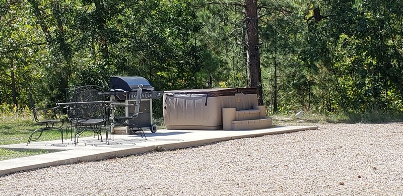 Luxury SPA Site - Rush No More Camping Resort and Cabins Sturgis SD