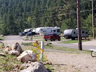 Upper Level RV Sites - Rush No More Camping Resort and Cabins Sturgis SD