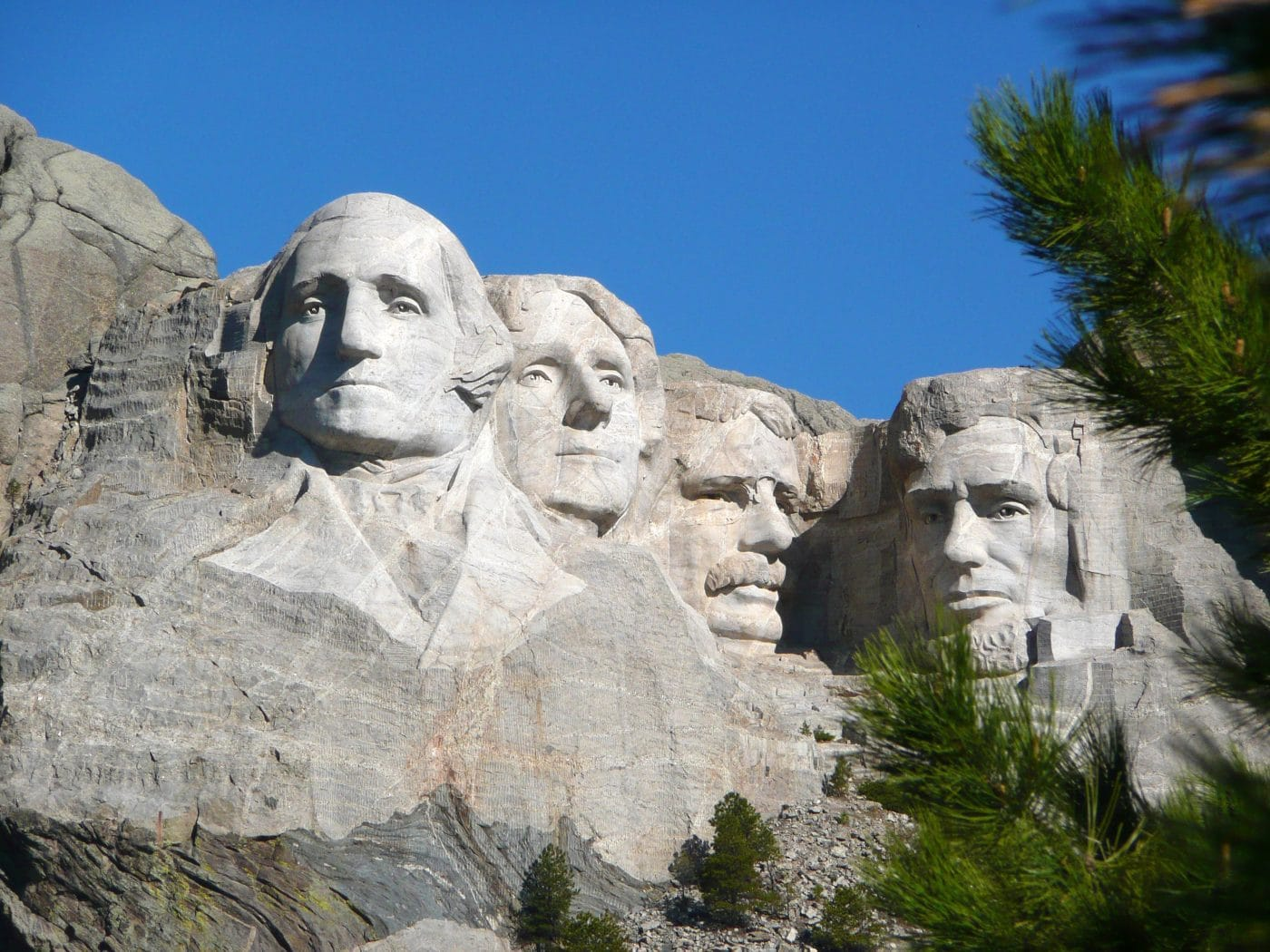Presidents Heads at Mount Rushmore