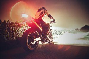 Motor Bike and Rider